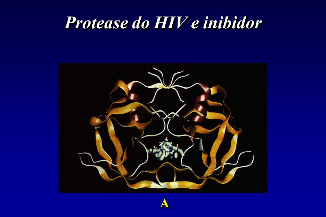 Protease do HIV e inibidor