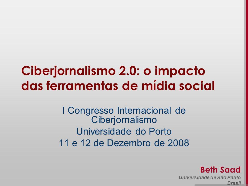 Ciberjornalismo 2.0: o impacto das ferramentas de mídia social