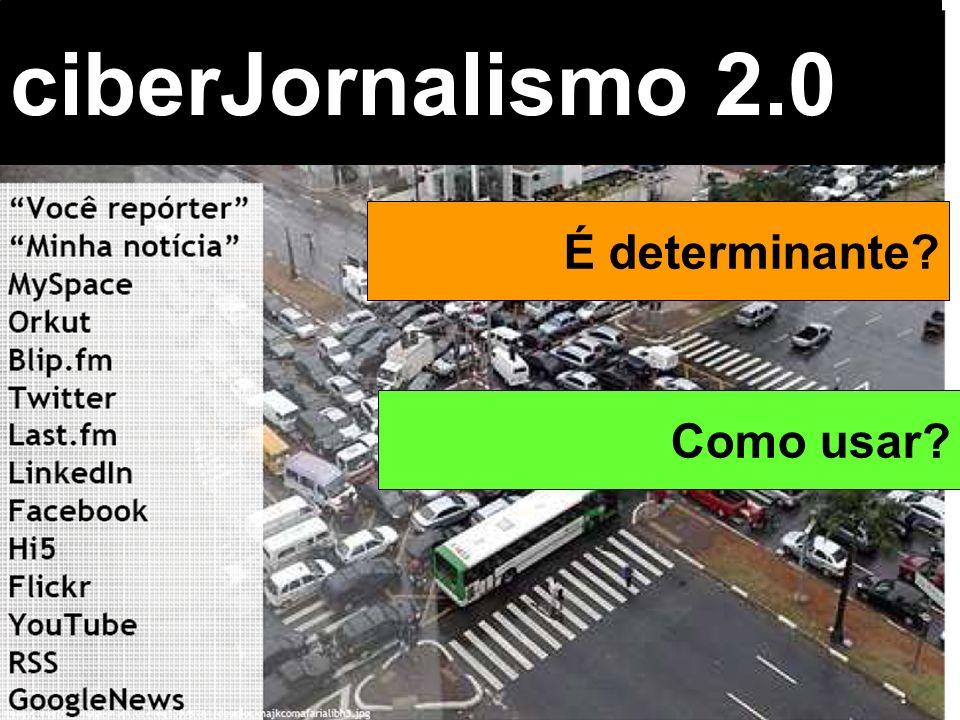 ciberJornalismo 2.0 É determinante Como usar Beth Saad