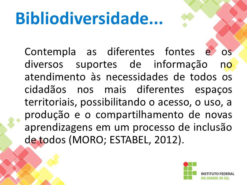 Bibliodiversidade...