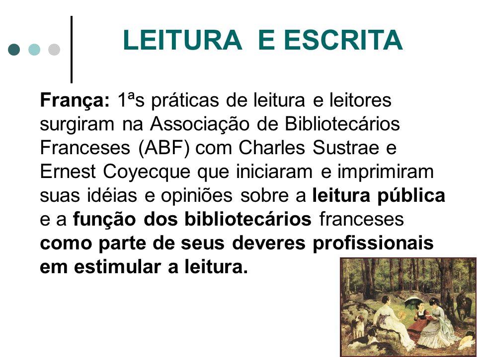 LEITURA E ESCRITA