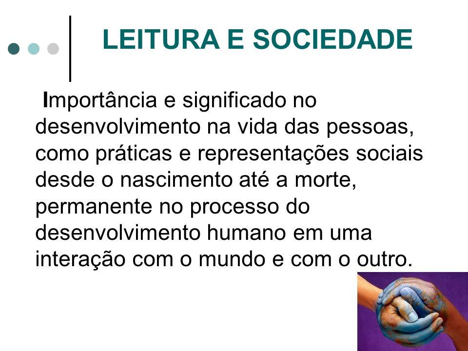 LEITURA E SOCIEDADE