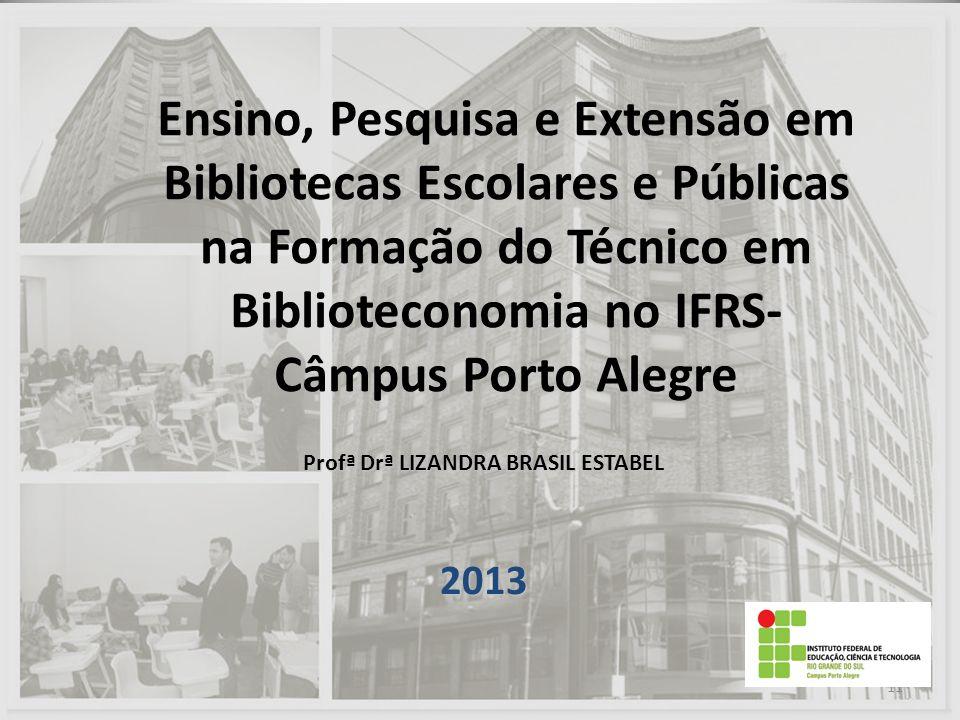 Profª Drª LIZANDRA BRASIL ESTABEL