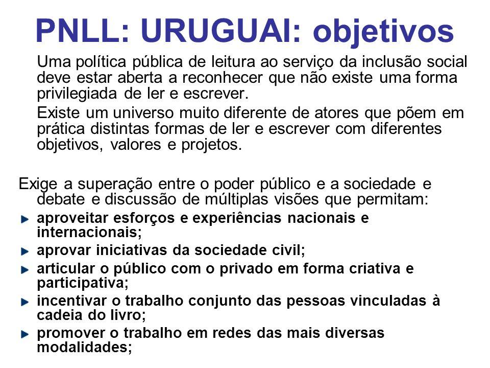 PNLL: URUGUAI: objetivos