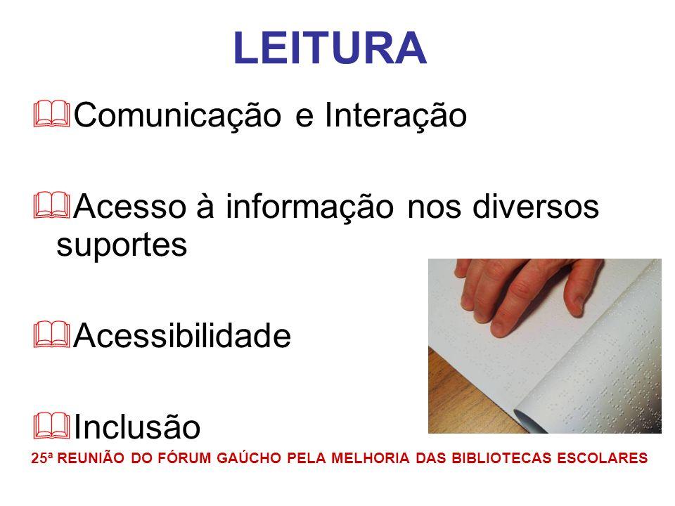 LEITURA Comunicação e Interação