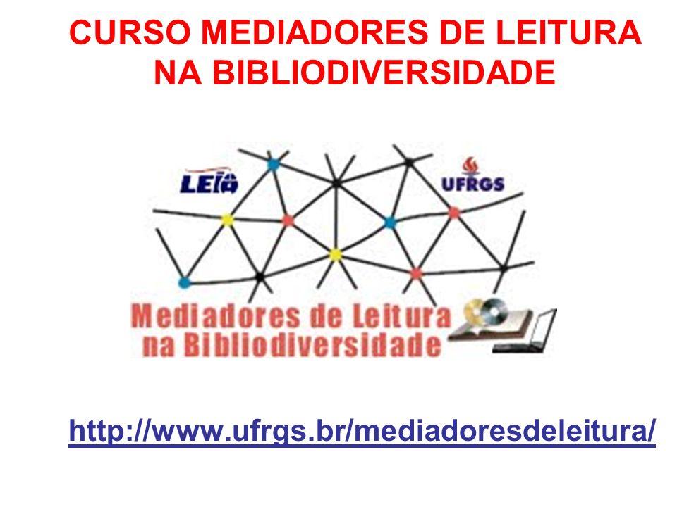 CURSO MEDIADORES DE LEITURA NA BIBLIODIVERSIDADE