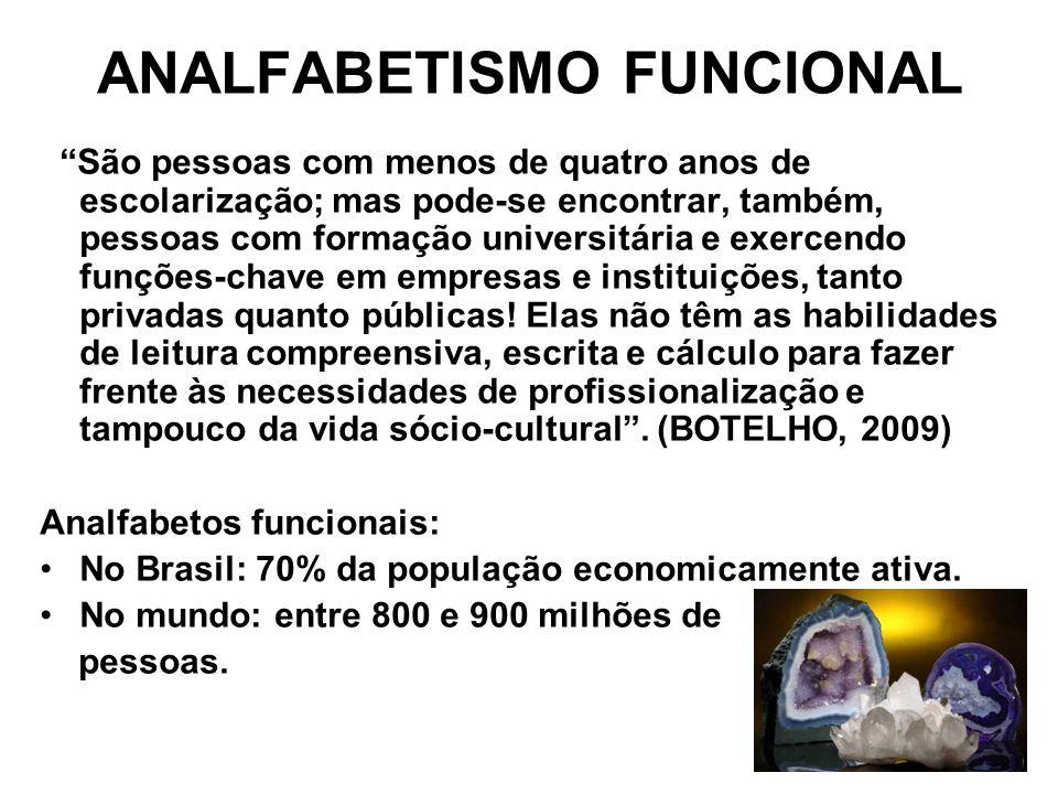 ANALFABETISMO FUNCIONAL