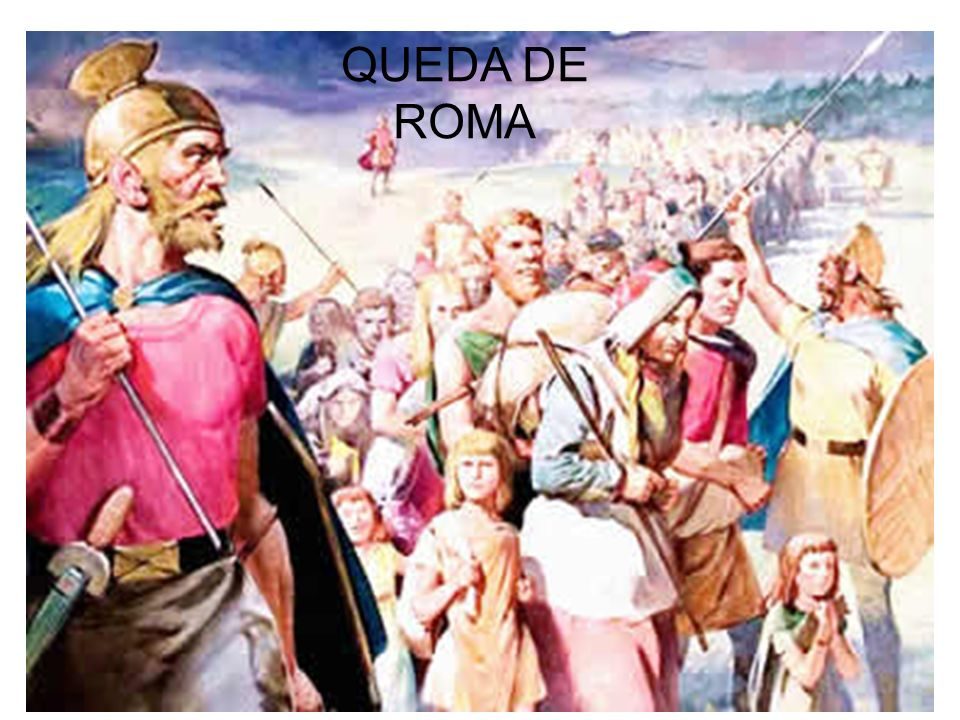 QUEDA DE ROMA