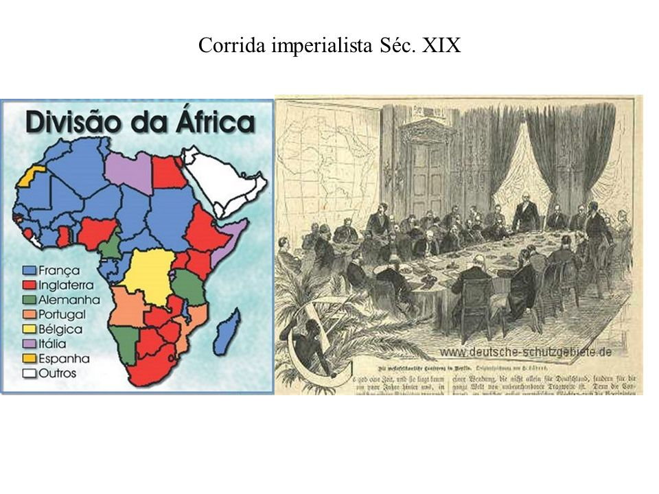 Corrida imperialista Séc. XIX