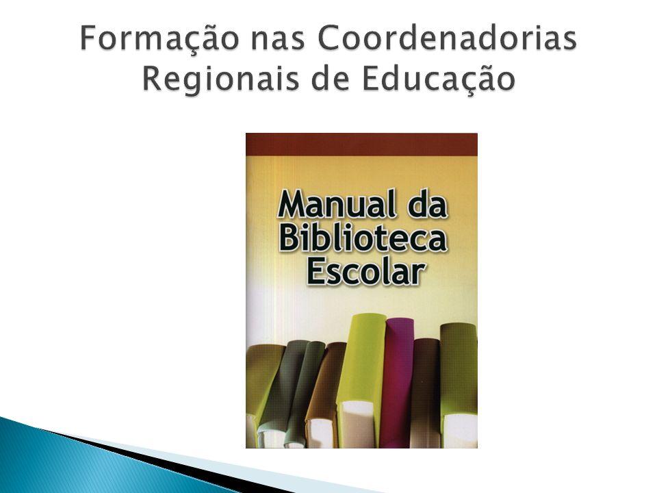 Formação nas Coordenadorias Regionais de Educação