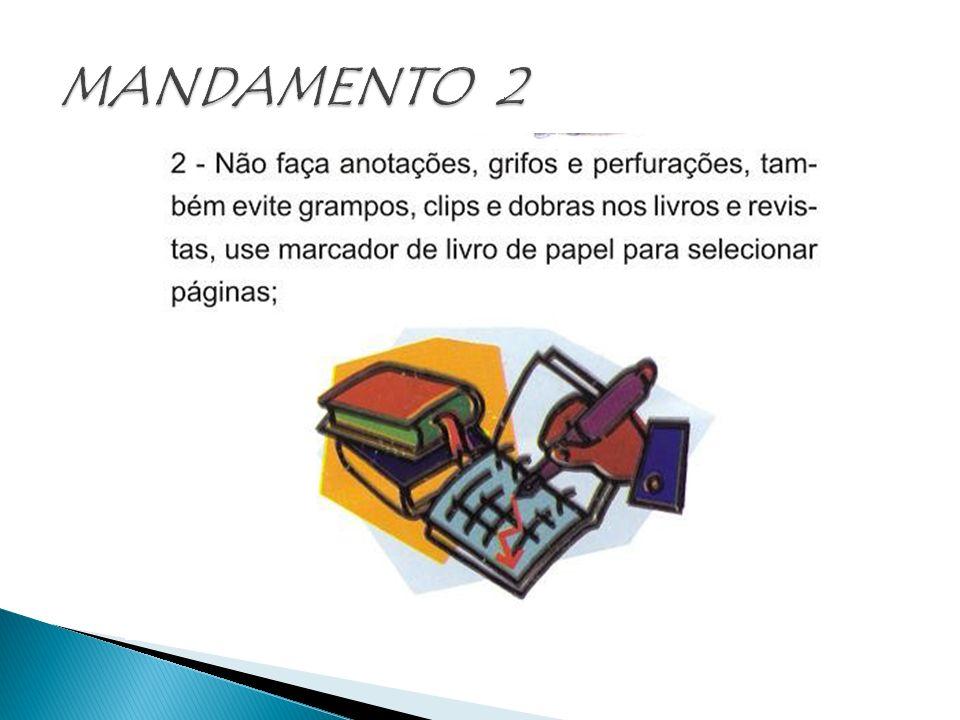 MANDAMENTO 2
