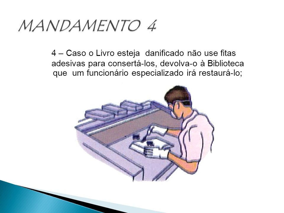 MANDAMENTO 4
