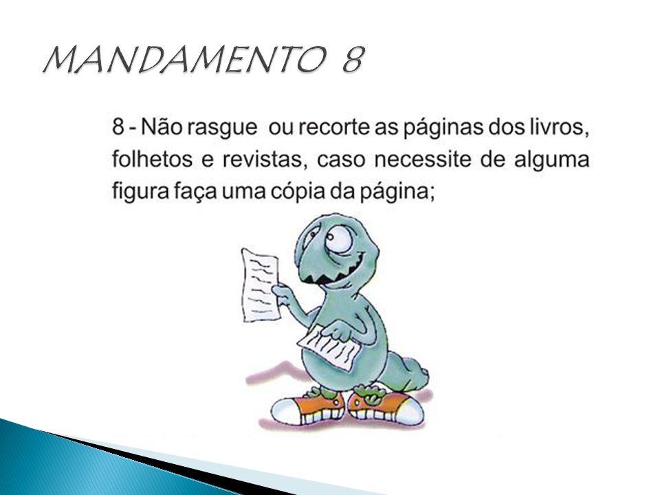 MANDAMENTO 8