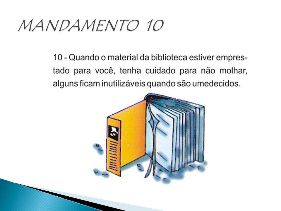 MANDAMENTO 10
