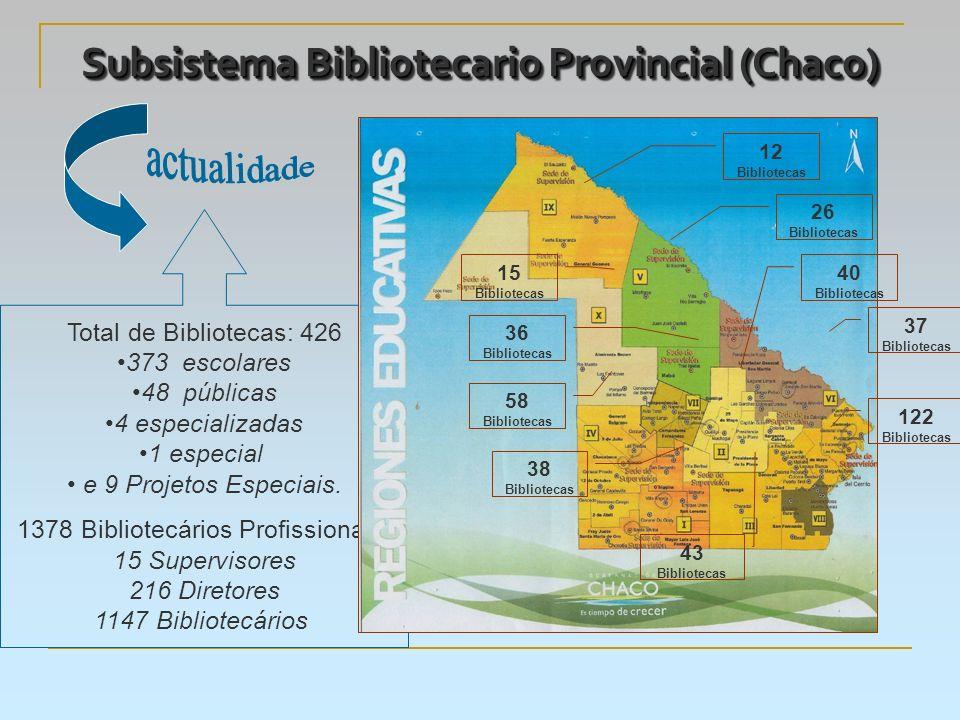 Subsistema Bibliotecario Provincial (Chaco)