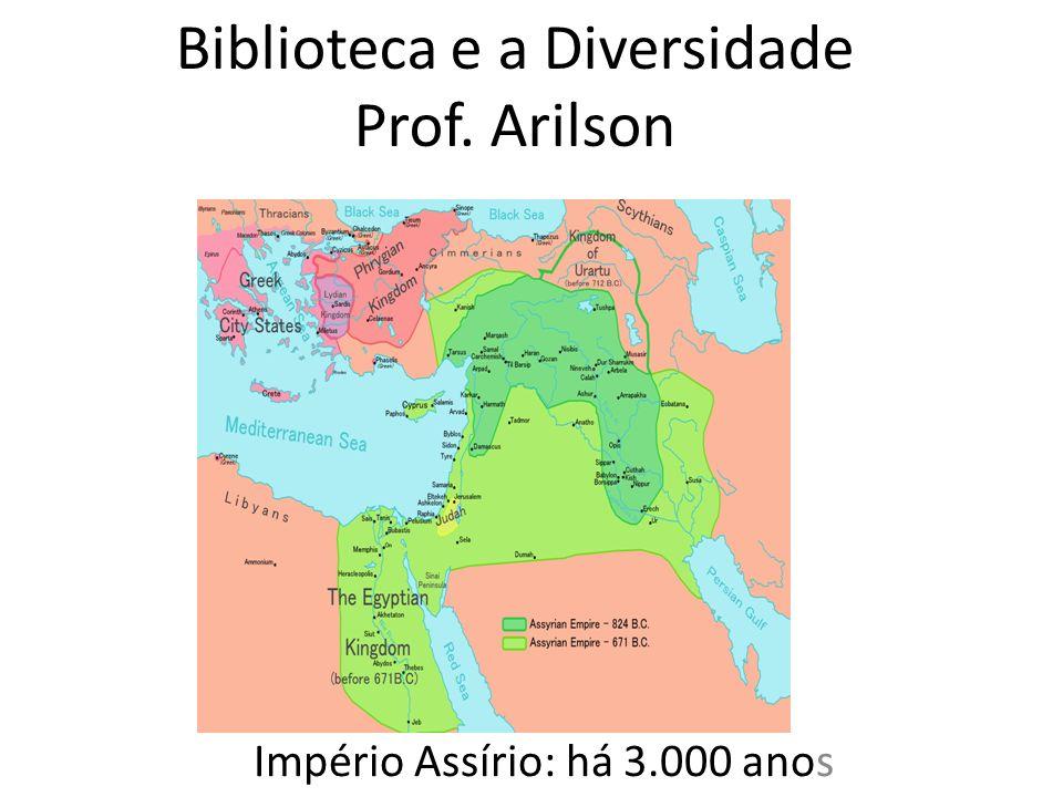 Biblioteca e a Diversidade Prof. Arilson