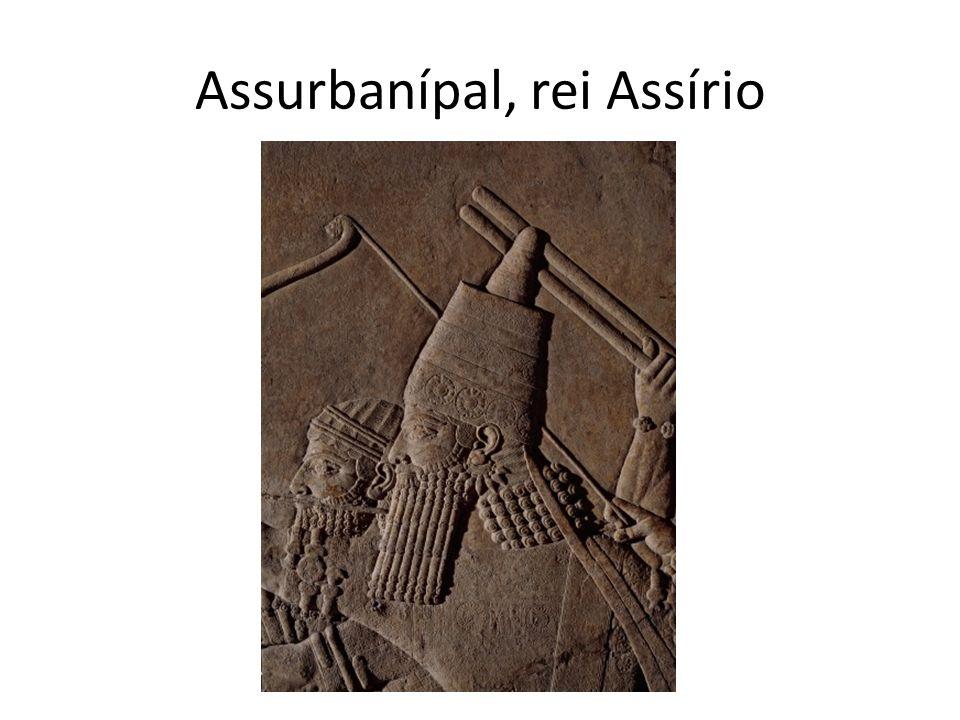 Assurbanípal, rei Assírio