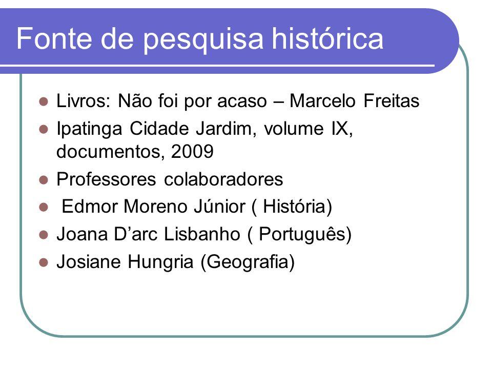 Fonte de pesquisa histórica