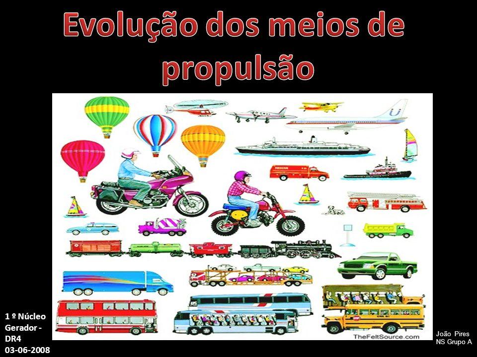 Evolução dos meios de propulsão