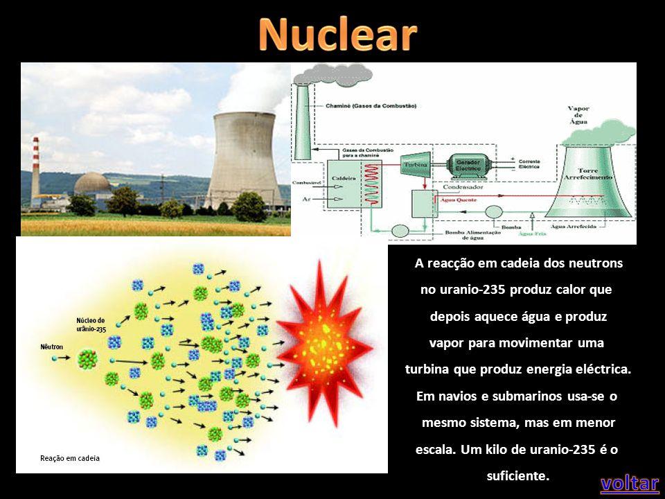 Nuclear voltar A reacção em cadeia dos neutrons