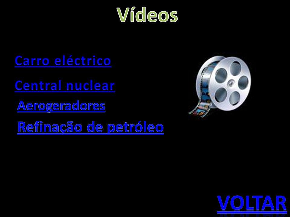 Vídeos voltar Refinação de petróleo Carro eléctrico Central nuclear