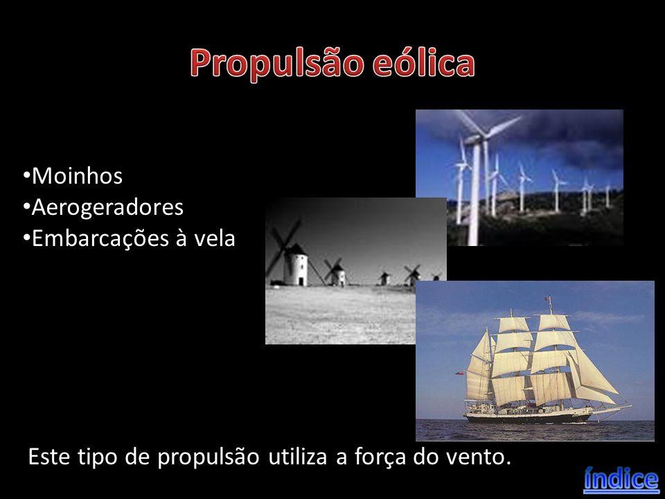 Propulsão eólica índice Moinhos Aerogeradores Embarcações à vela