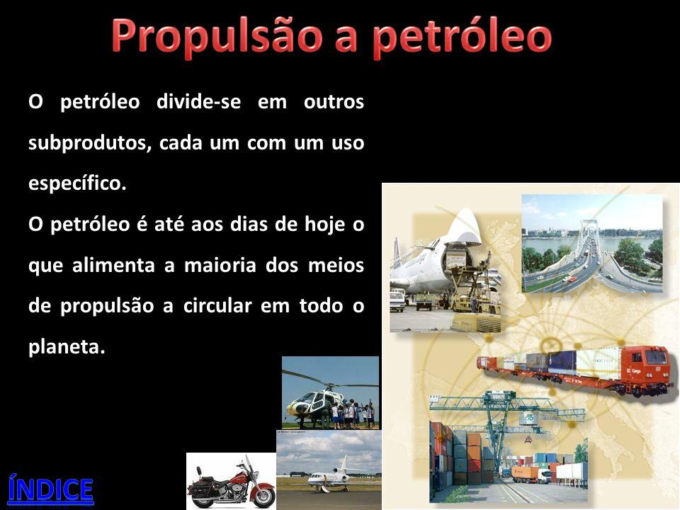 Propulsão a petróleo índice