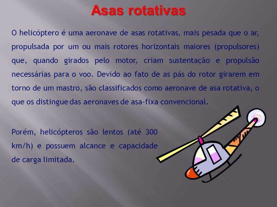 Asas rotativas