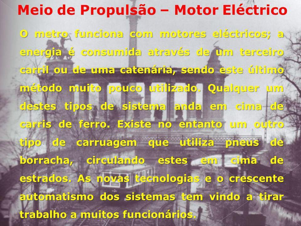 Meio de Propulsão – Motor Eléctrico