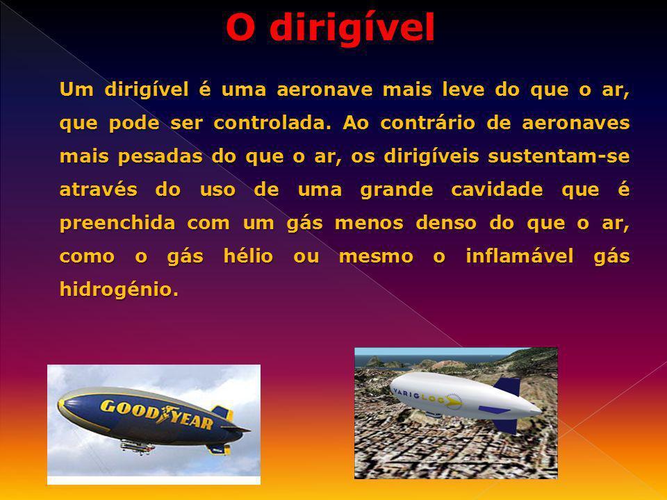 O dirigível