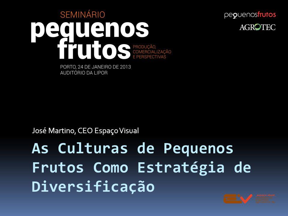 As Culturas de Pequenos Frutos Como Estratégia de Diversificação