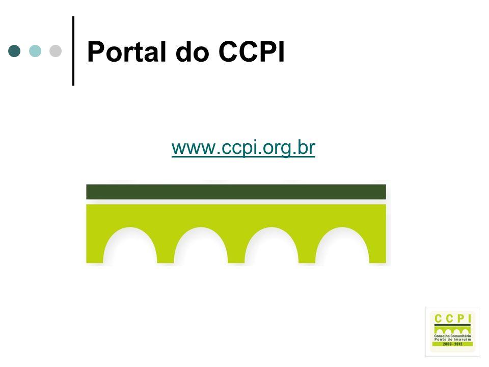 Portal do CCPI www.ccpi.org.br