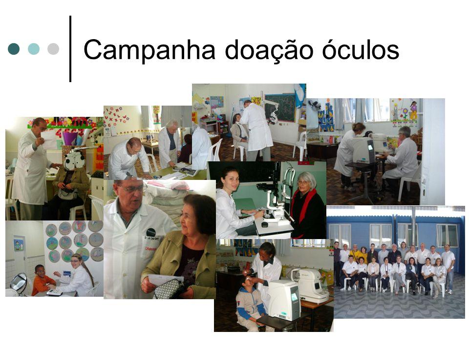 Campanha doação óculos