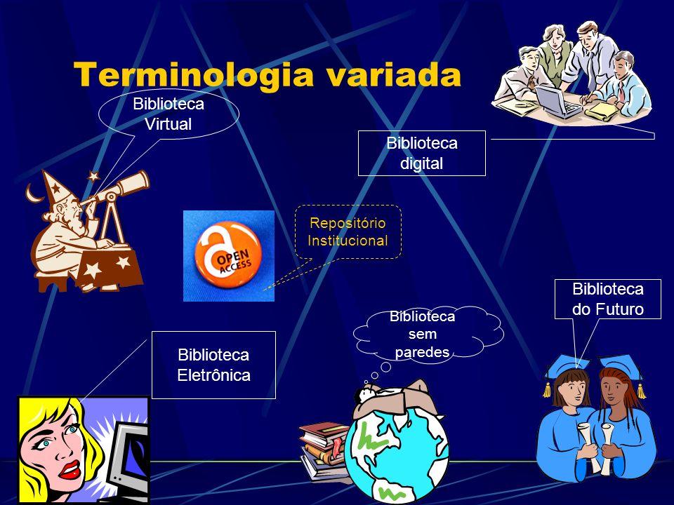Terminologia variada Biblioteca Virtual Biblioteca digital