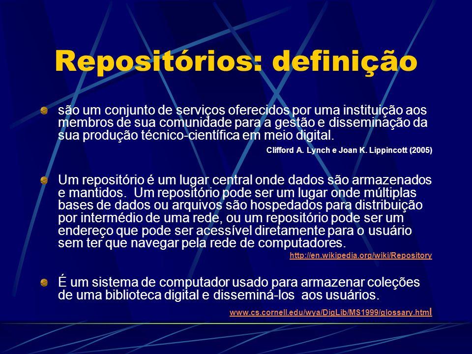 Repositórios: definição