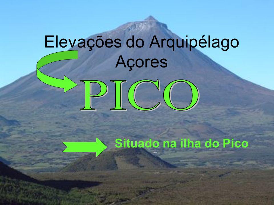 Elevações do Arquipélago Açores