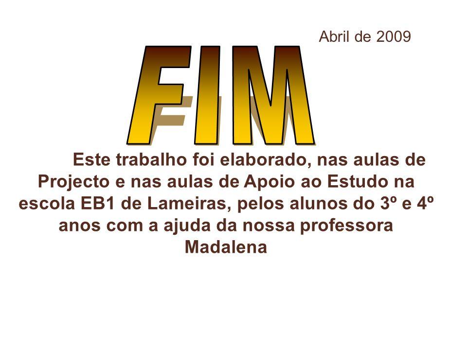 Abril de 2009 FIM.