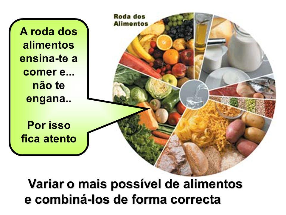A roda dos alimentos ensina-te a comer e...