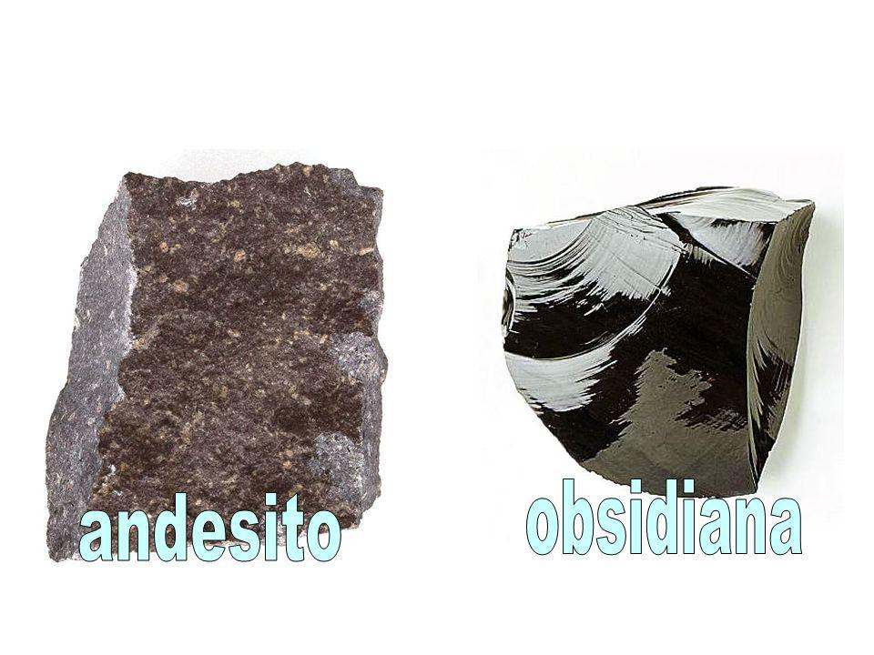 obsidiana andesito