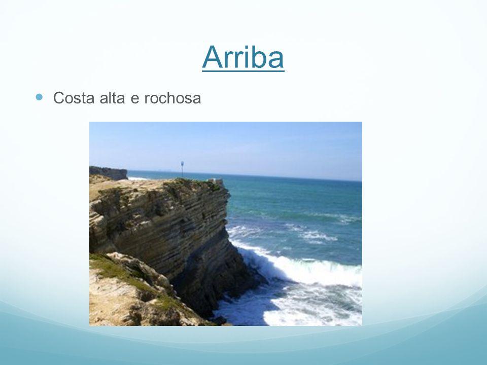 Arriba Costa alta e rochosa