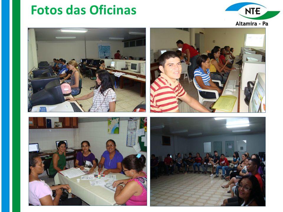 Fotos das Oficinas