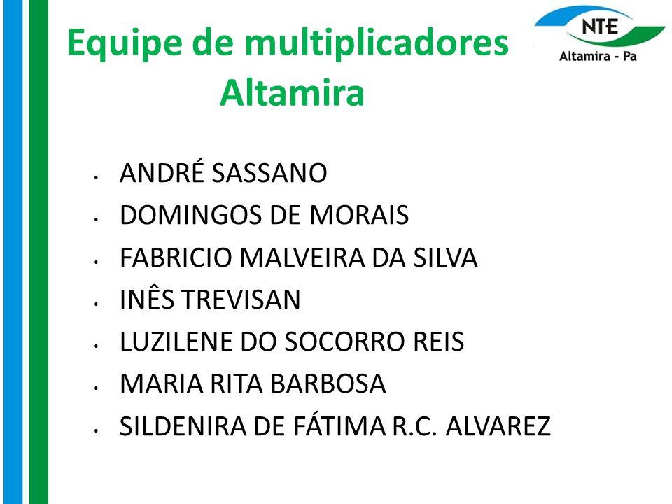 Equipe de multiplicadores Altamira