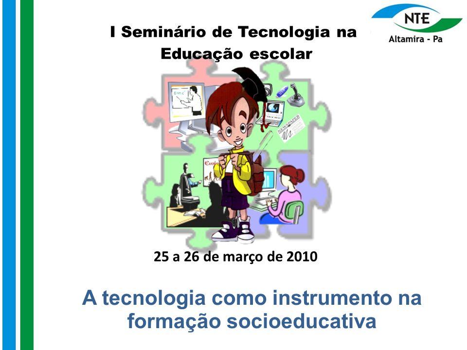 A tecnologia como instrumento na formação socioeducativa