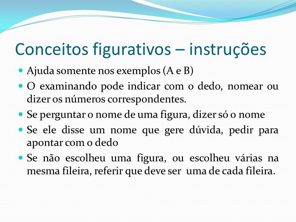 Conceitos figurativos – instruções