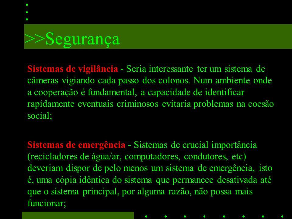 >>Segurança