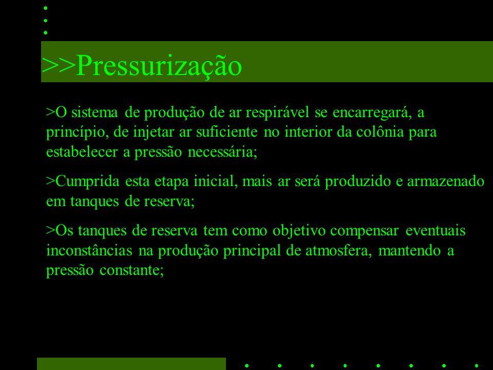 >>Pressurização