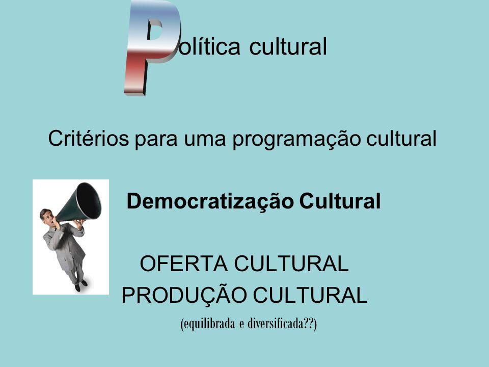 Democratização Cultural