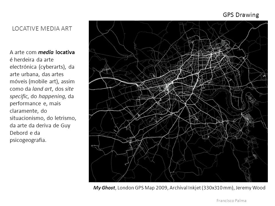 GPS Drawing LOCATIVE MEDIA ART