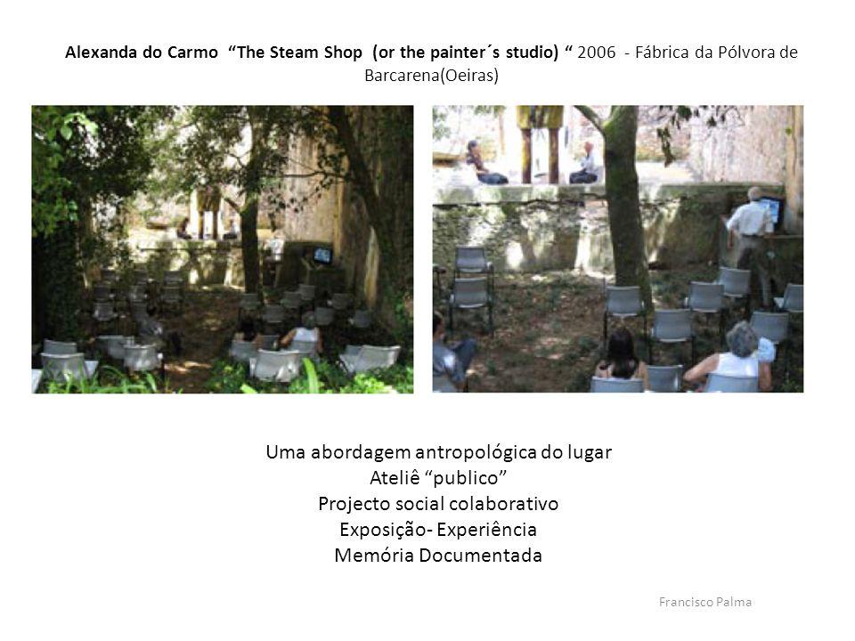 Uma abordagem antropológica do lugar Ateliê publico