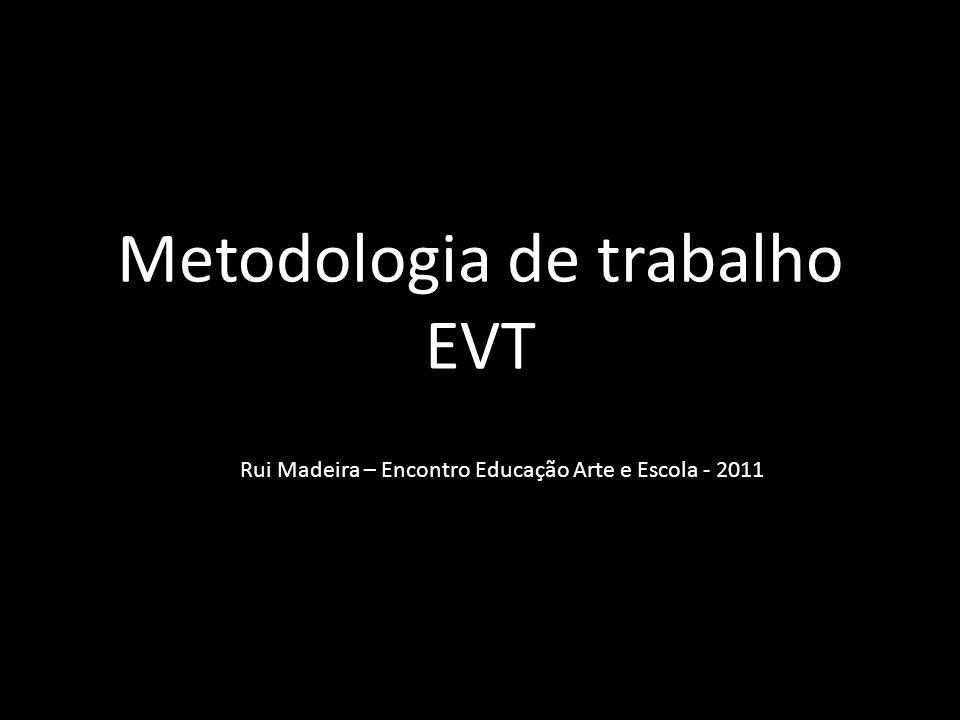 Metodologia de trabalho EVT